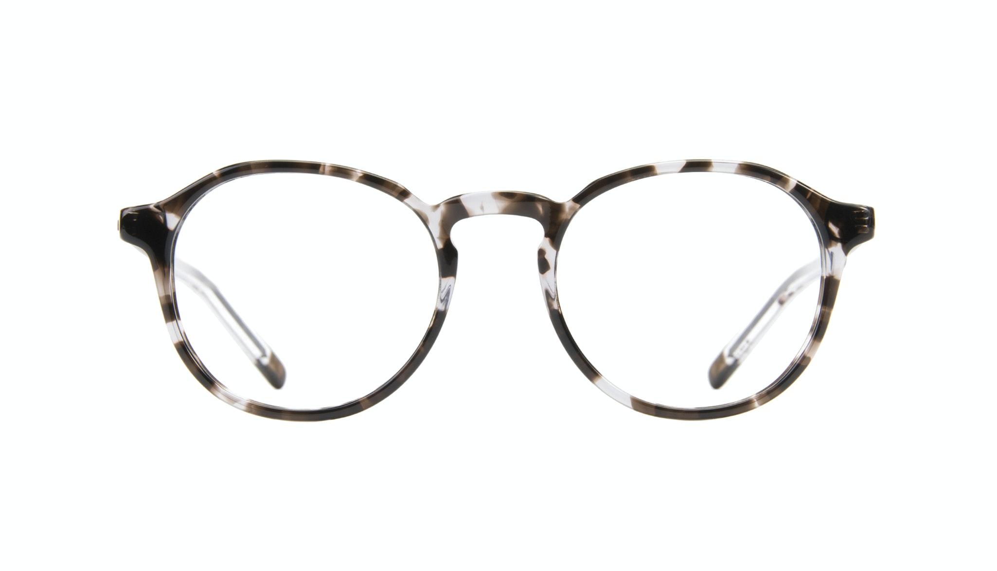 Affordable Fashion Glasses Round Eyeglasses Men Prime Mud Tort Front