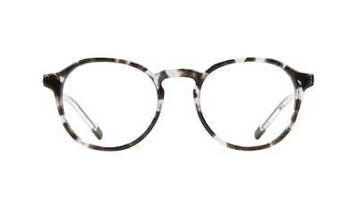 Affordable Fashion Glasses Round Eyeglasses Men Prime Mud Tort Front