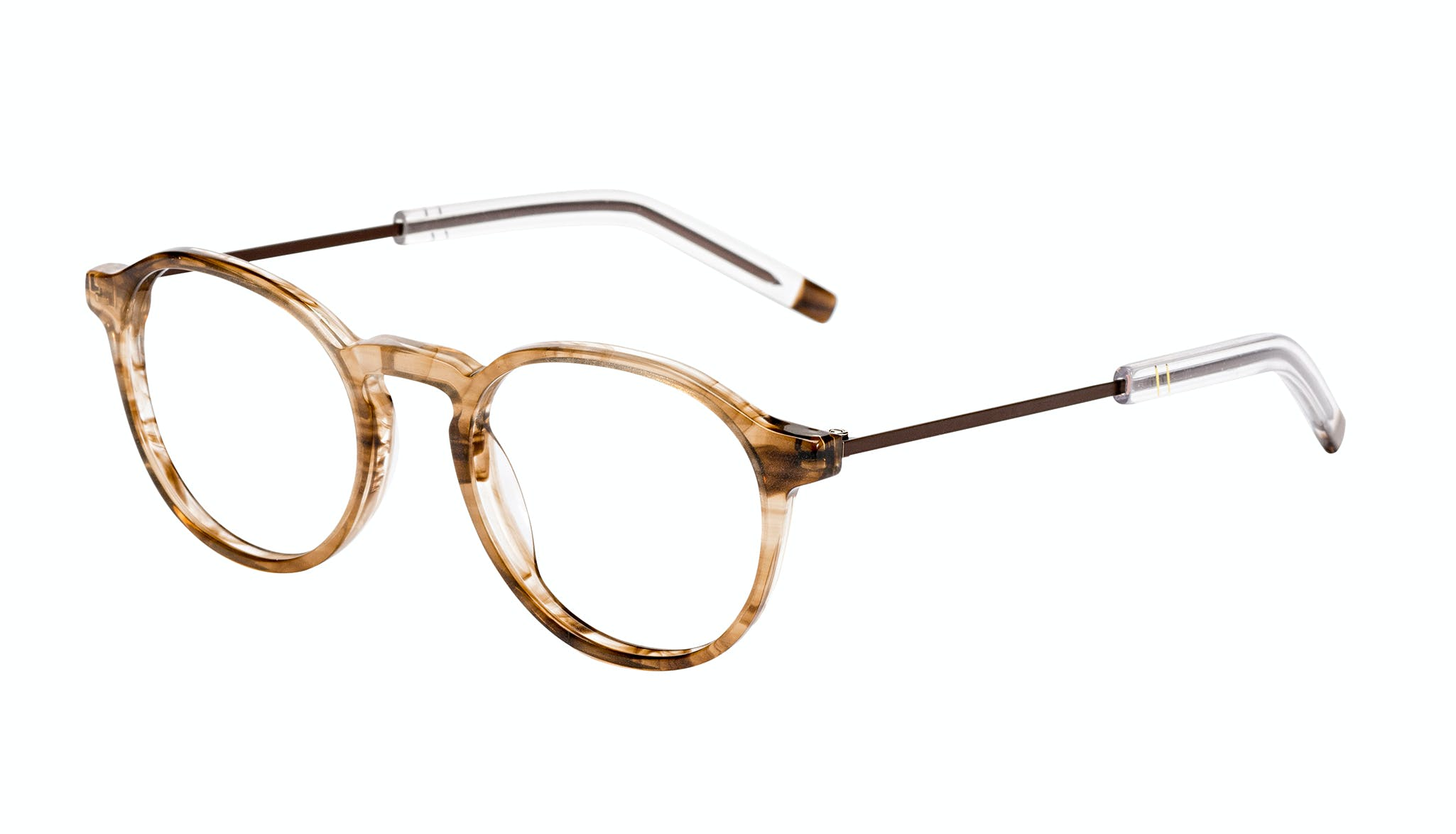 Affordable Fashion Glasses Round Eyeglasses Men Prime Smokey Havana Tilt