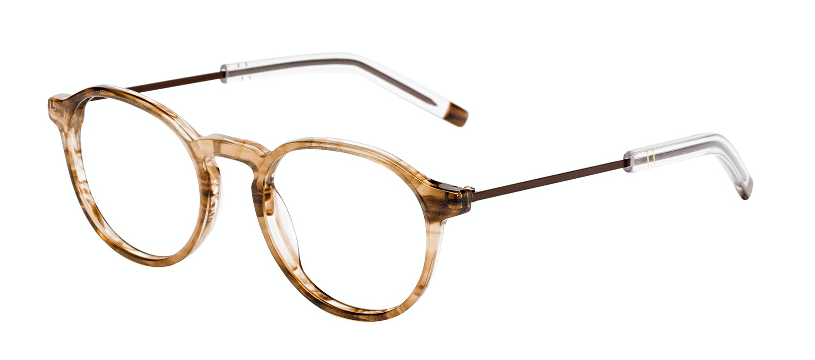 Affordable Fashion Glasses Round Eyeglasses Men Prime Smokey Havana Tilt
