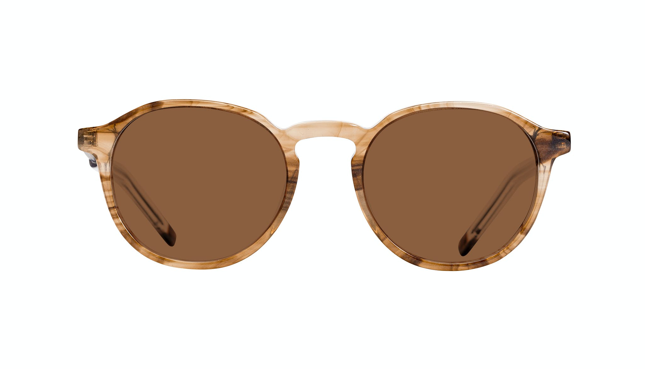 Affordable Fashion Glasses Round Sunglasses Men Prime Smokey Havana