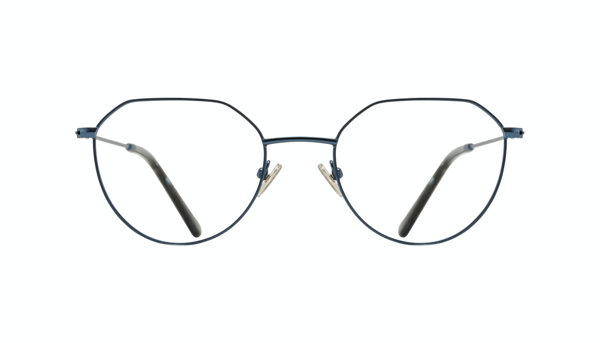 Affordable Fashion Glasses Round Eyeglasses Women Prism Marine Front