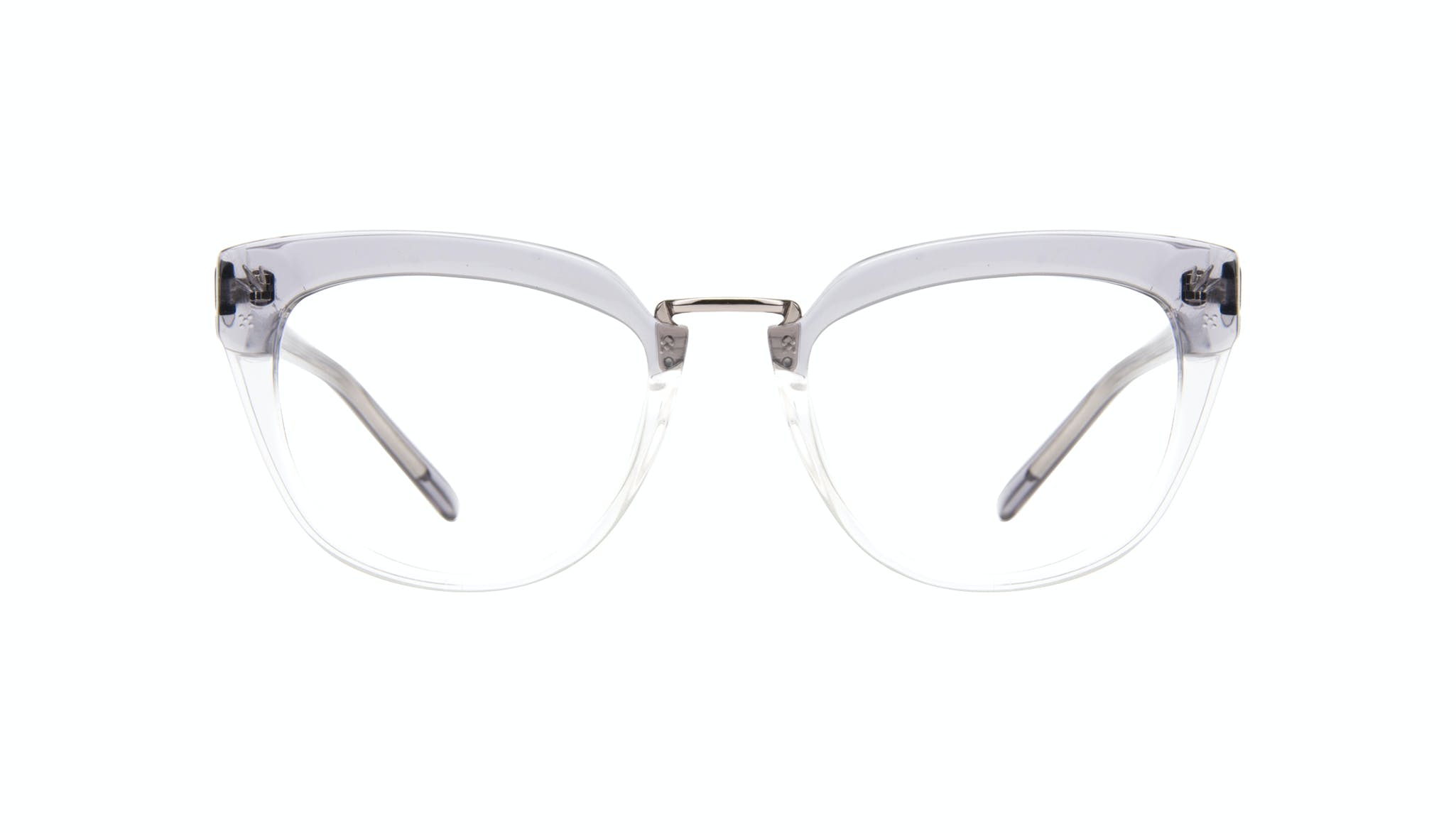 Affordable Fashion Glasses Cat Eye Daring Cateye Eyeglasses Women Pure Grey Front