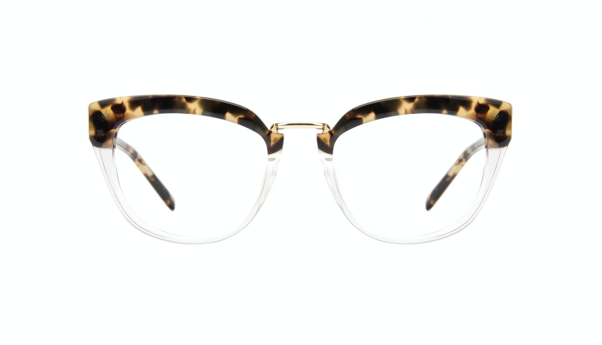 Affordable Fashion Glasses Cat Eye Daring Cateye Eyeglasses Women Pure Tortoise Front