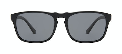 Affordable Fashion Glasses Square Sunglasses Men Raceway Onyx Matte Front