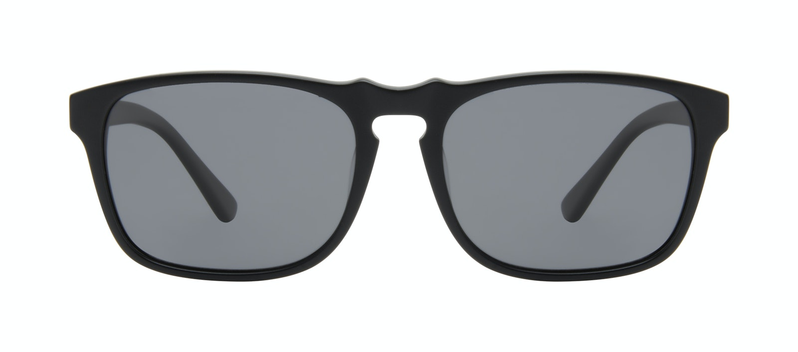 Affordable Fashion Glasses Square Sunglasses Men Raceway Onyx Matte Front