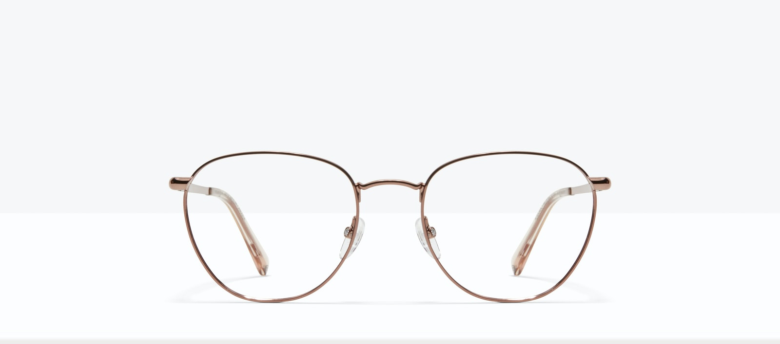 Affordable Fashion Glasses Round Eyeglasses Women Radiant L Copper Front
