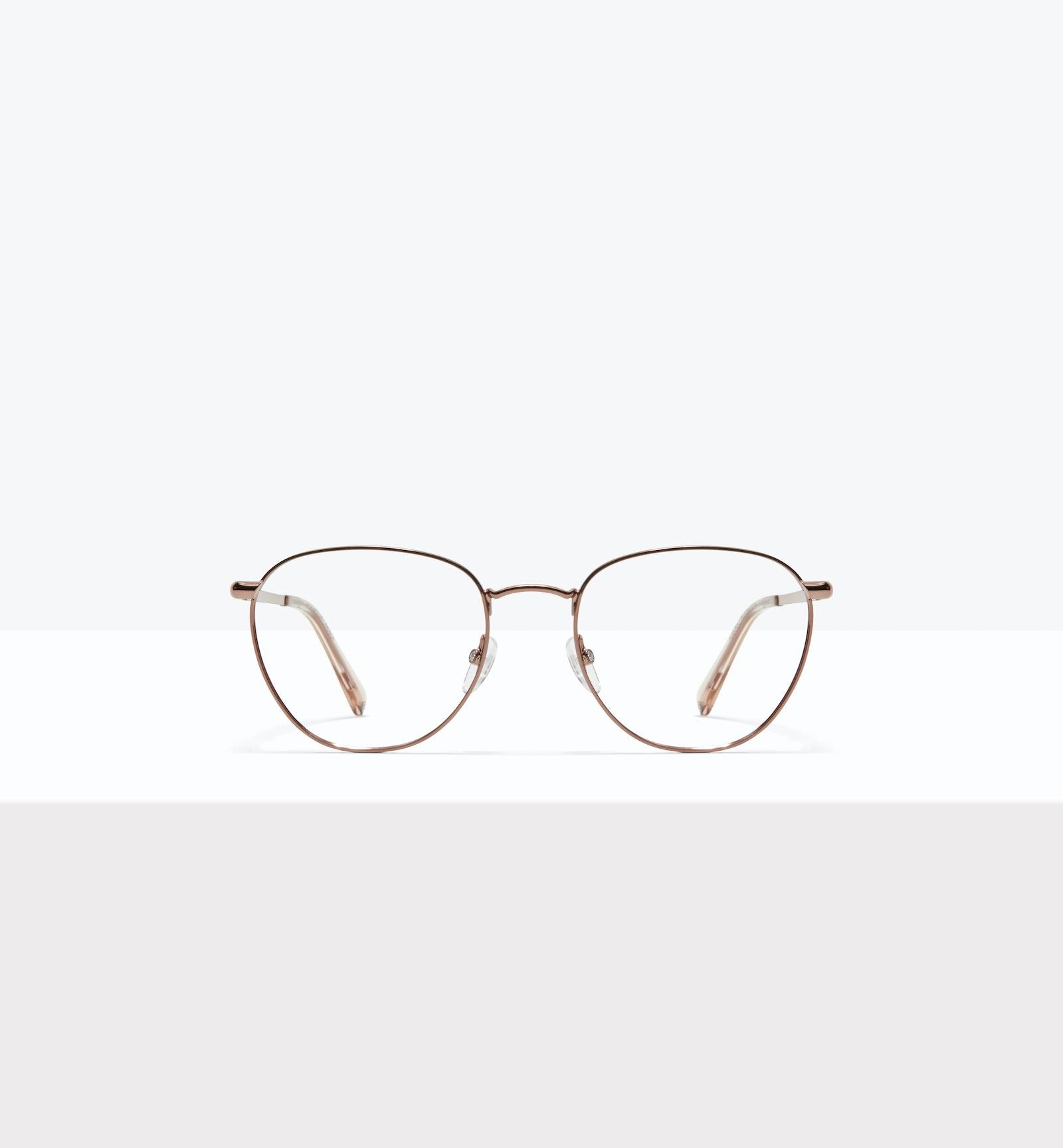 Affordable Fashion Glasses Round Eyeglasses Women Radiant L Copper