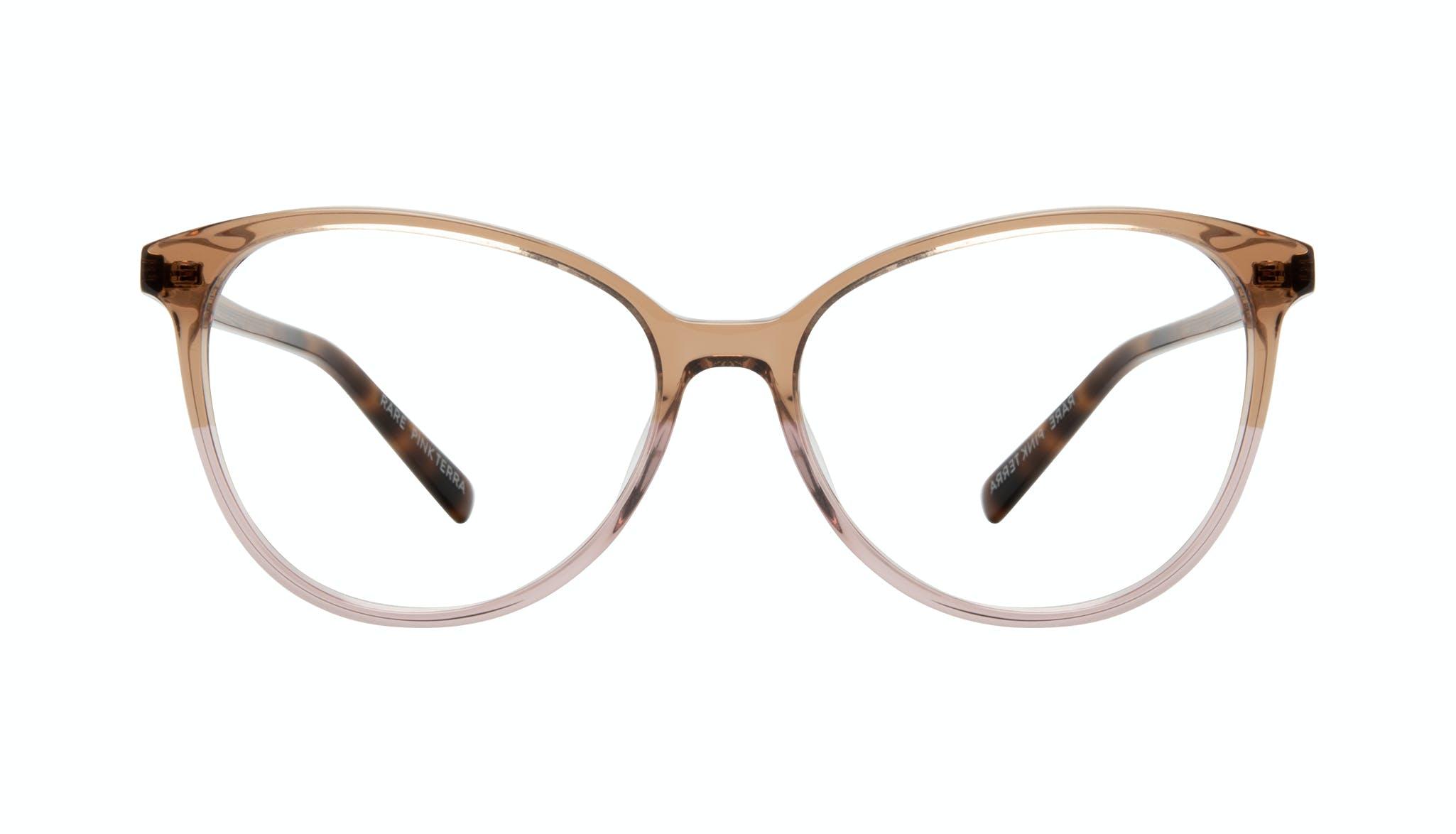 Affordable Fashion Glasses Cat Eye Eyeglasses Women Rare Pink Terra Front