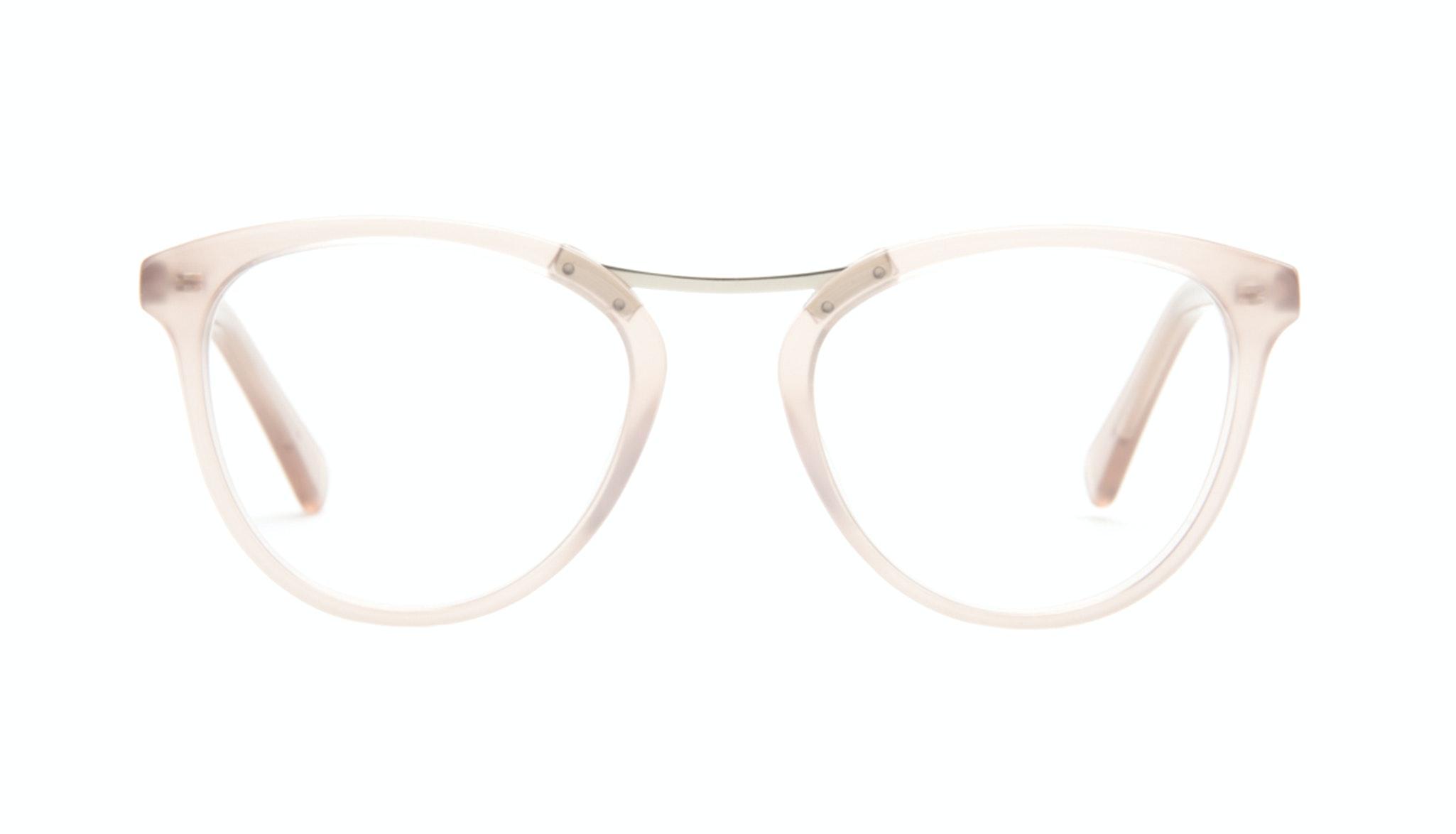 Affordable Fashion Glasses Cat Eye Round Eyeglasses Women Reef Shell Front