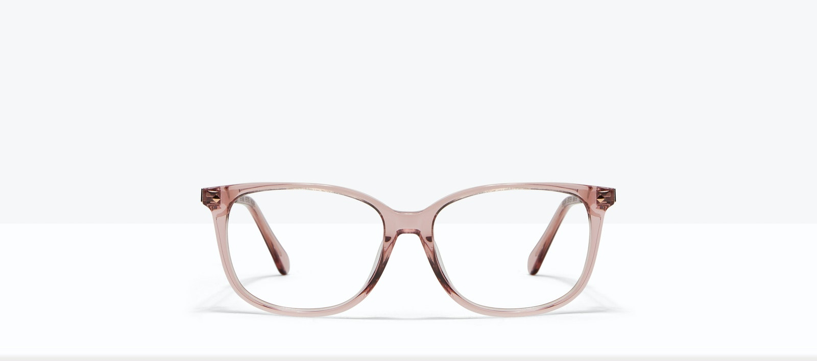 Affordable Fashion Glasses Square Eyeglasses Women Refine Petite Rose Front
