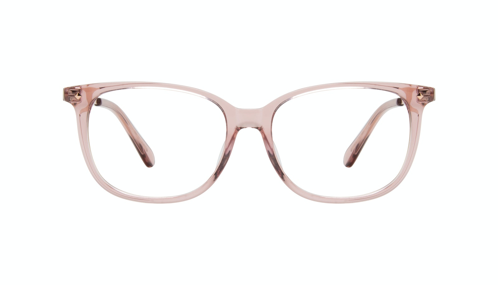 Affordable Fashion Glasses Square Eyeglasses Women Refine Petite Rose