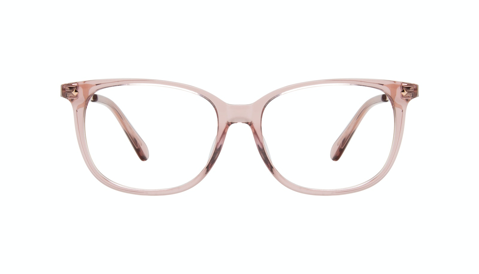 Affordable Fashion Glasses Rectangle Square Eyeglasses Women Refine XS Rose