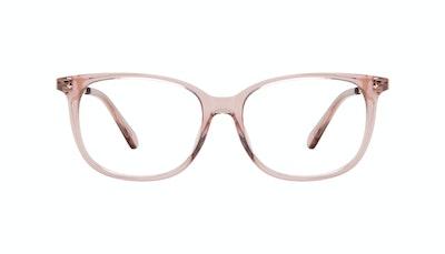 Affordable Fashion Glasses Square Eyeglasses Women Refine Petite Rose Front