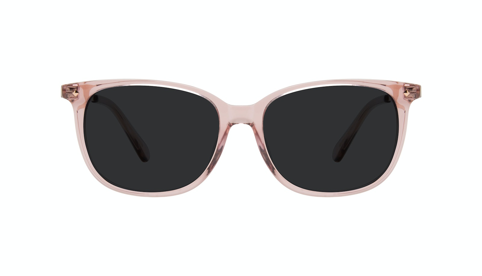 Affordable Fashion Glasses Square Sunglasses Women Refine Petite Rose