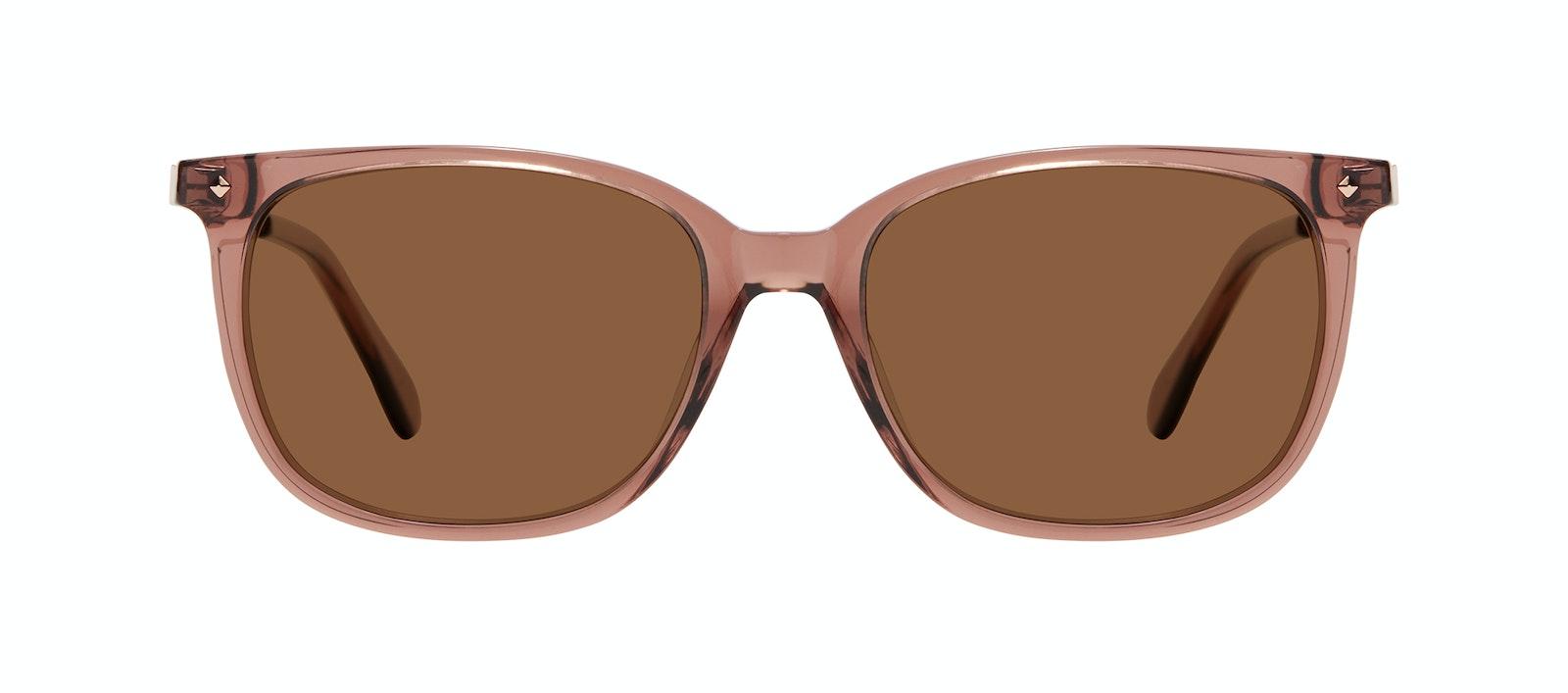 Affordable Fashion Glasses Rectangle Square Sunglasses Women Refine Dark Terra Front