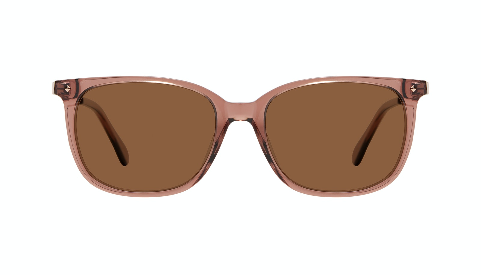 Affordable Fashion Glasses Rectangle Square Sunglasses Women Refine Dark Terra