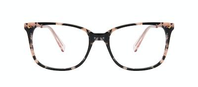 Affordable Fashion Glasses Rectangle Square Eyeglasses Women Refine M Licorice Front