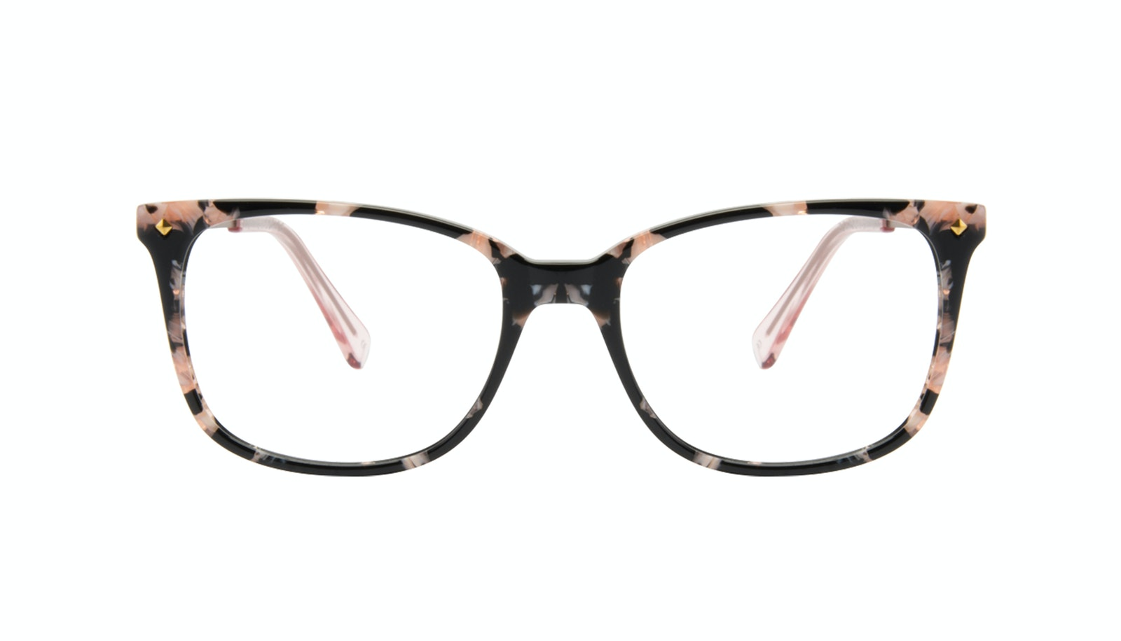 Affordable Fashion Glasses Rectangle Square Eyeglasses Women Refine Licorice