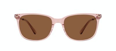 Affordable Fashion Glasses Rectangle Square Sunglasses Women Refine M Rose Front