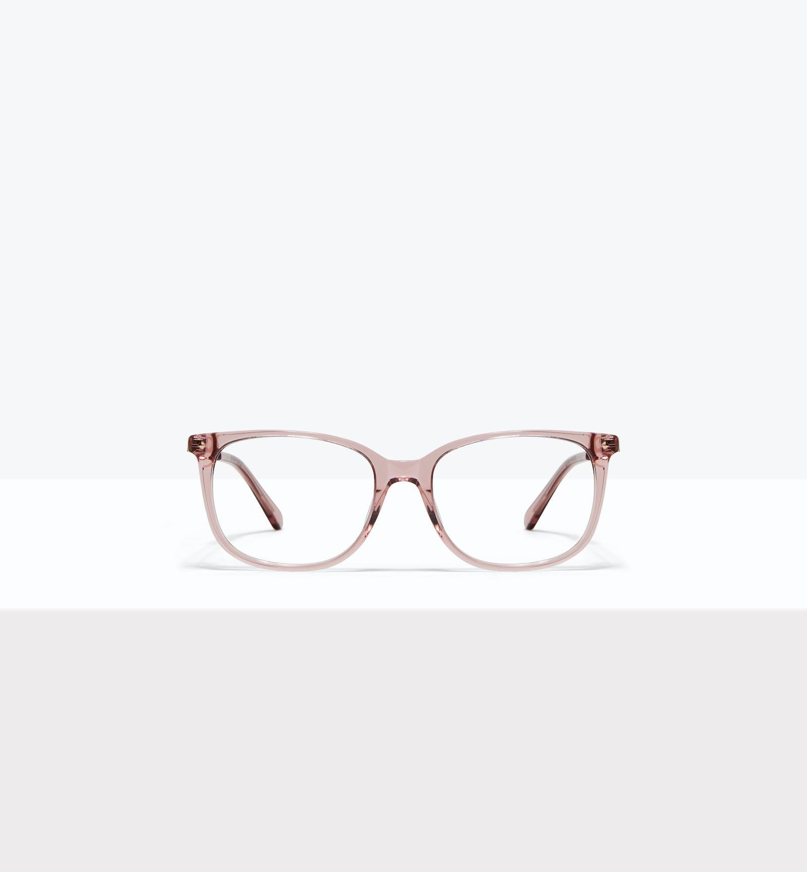 7ac0f34a396302 Affordable Fashion Glasses Rectangle Square Eyeglasses Women Refine Rose