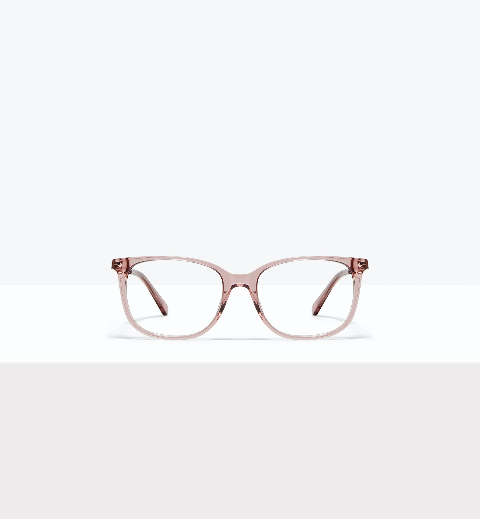 Affordable Fashion Glasses Rectangle Square Eyeglasses Women Refine Rose