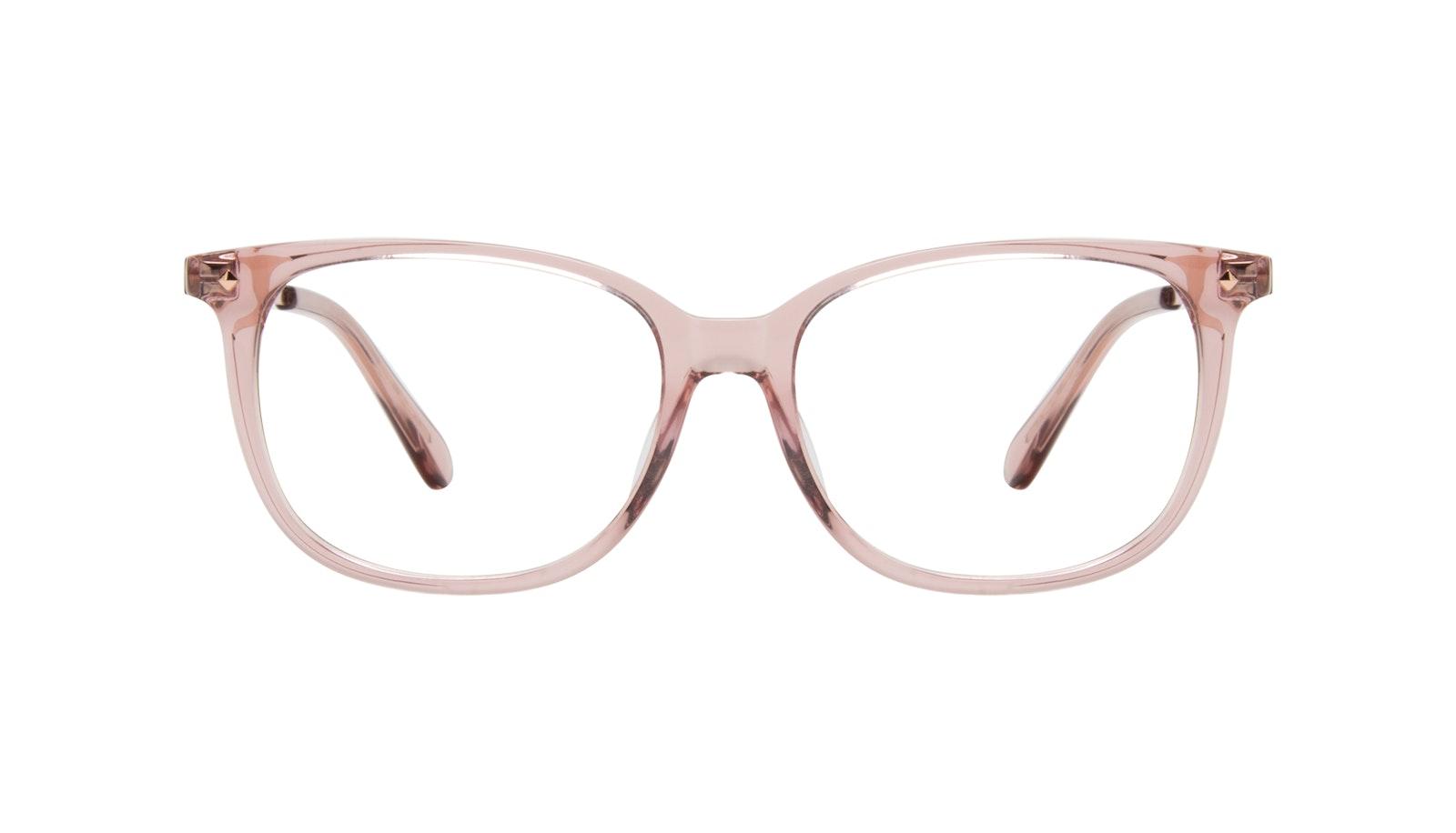 Lunettes tendance Rectangle Carrée Lunettes de vue Femmes Refine Rose