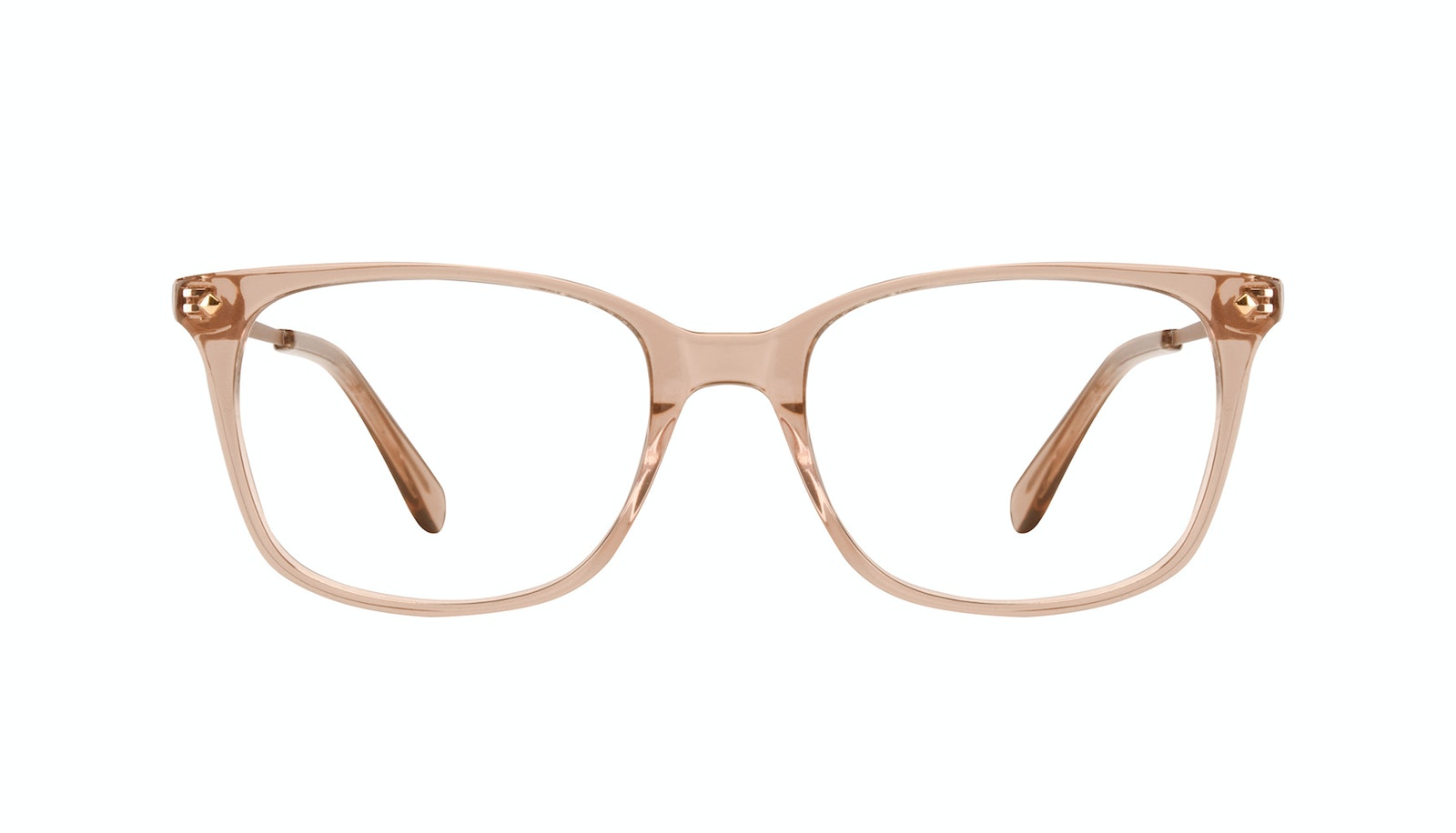 Affordable Fashion Glasses Rectangle Square Eyeglasses Women Refine M Toffee