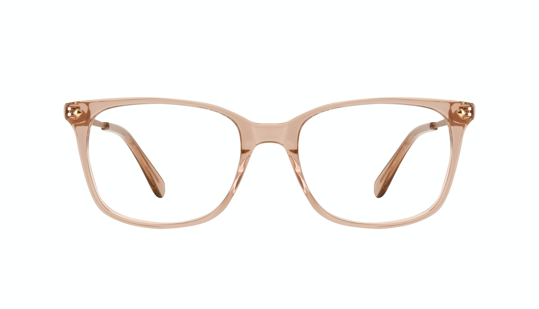 Affordable Fashion Glasses Rectangle Square Eyeglasses Women Refine Toffee
