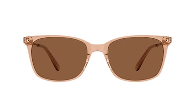 Affordable Fashion Glasses Rectangle Square Sunglasses Women Refine M Toffee Front