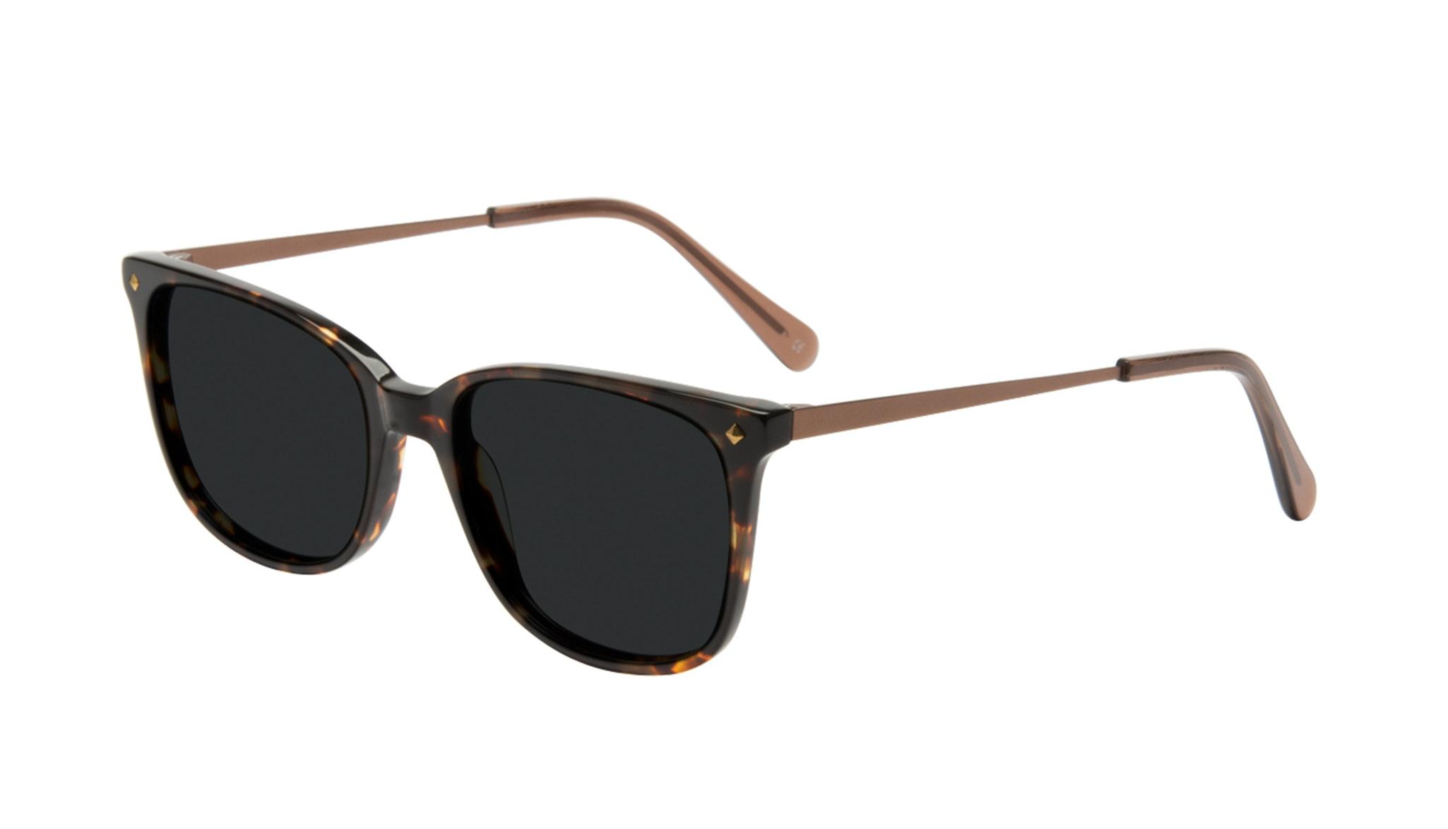 Affordable Fashion Glasses Rectangle Square Sunglasses Women Refine Tortoise Tilt