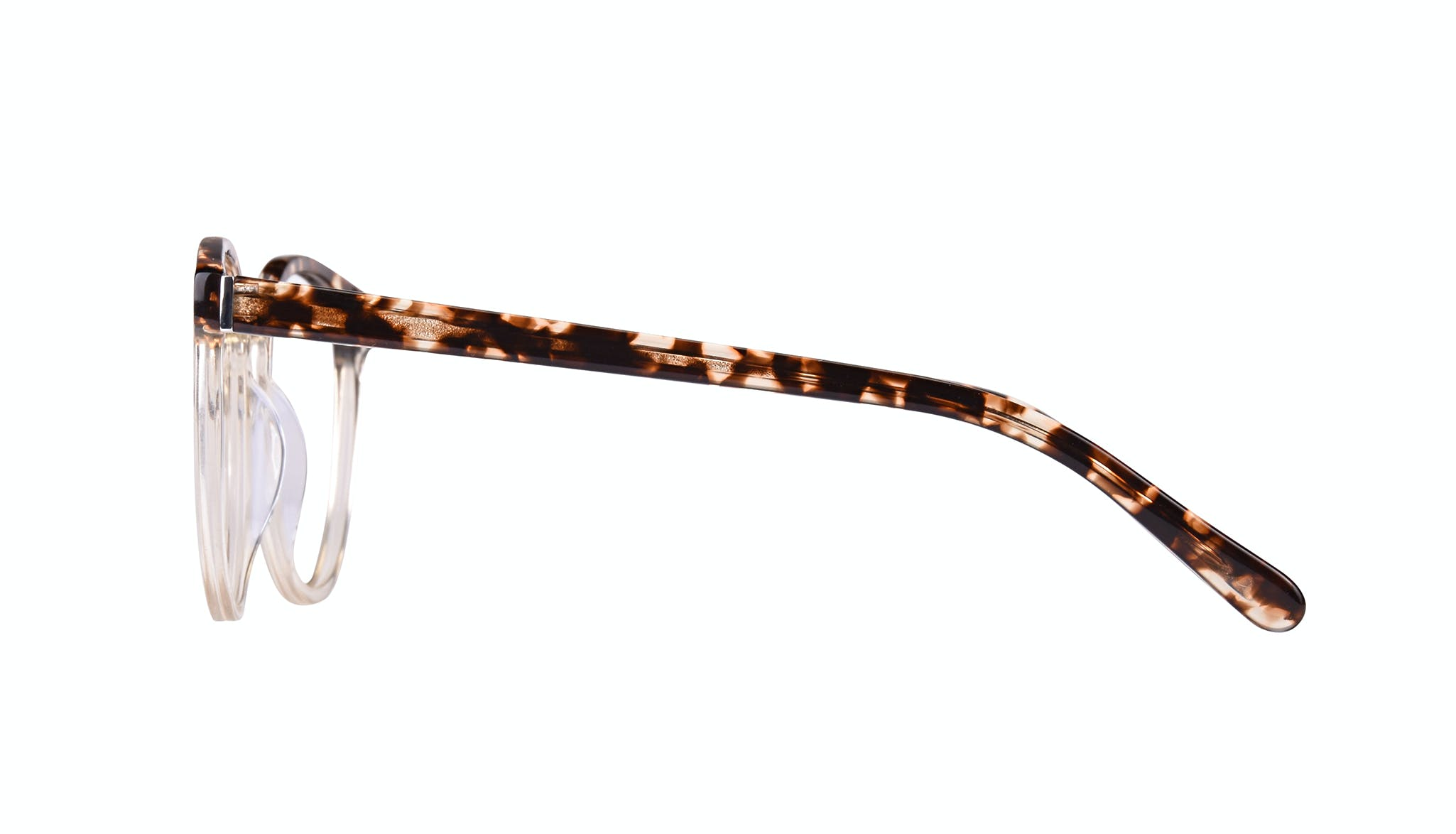 Affordable Fashion Glasses Cat Eye Daring Cateye Eyeglasses Women Reverie Blond Tortoise Side