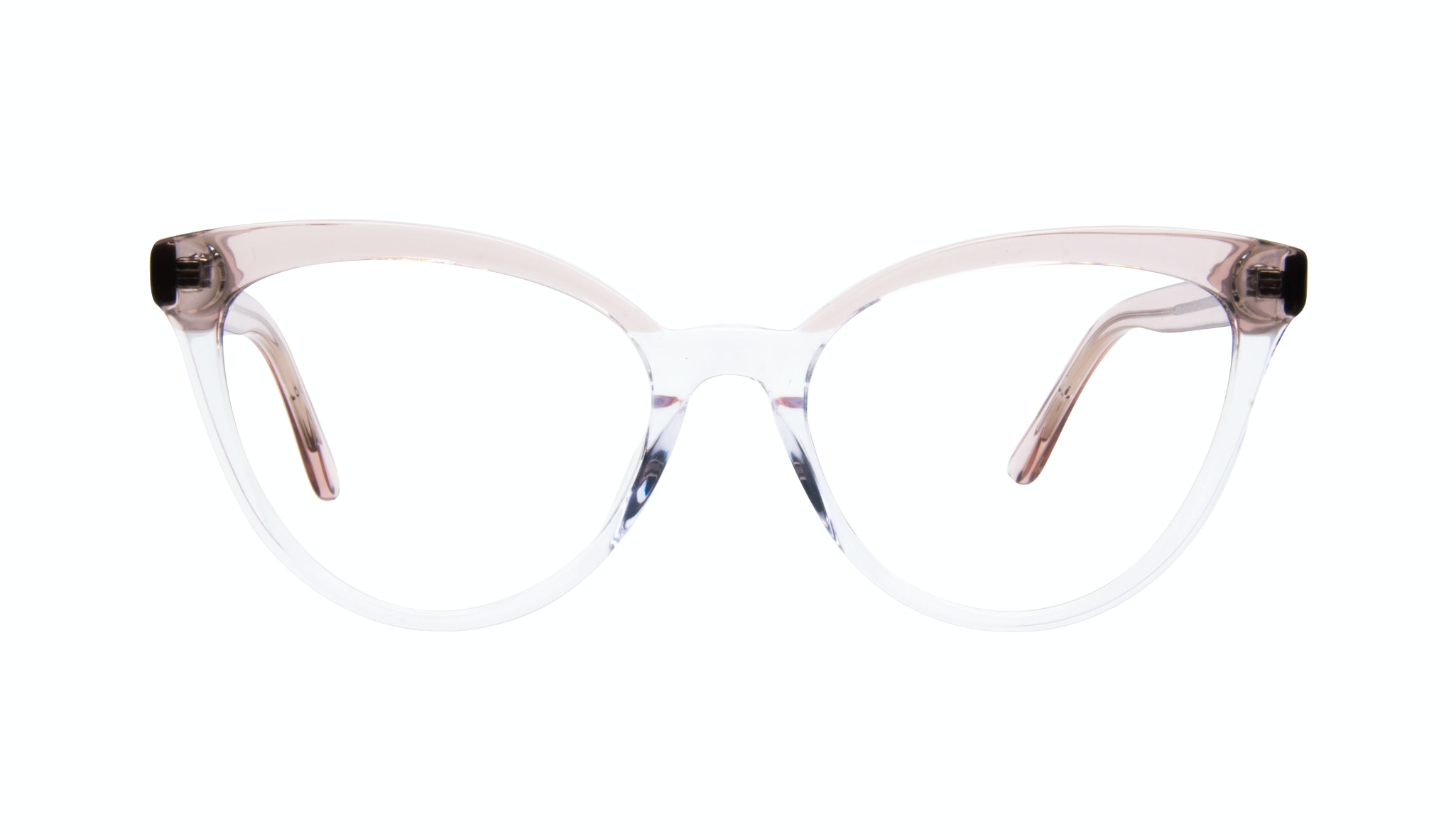 Affordable Fashion Glasses Cat Eye Eyeglasses Women Reverie Clear rose