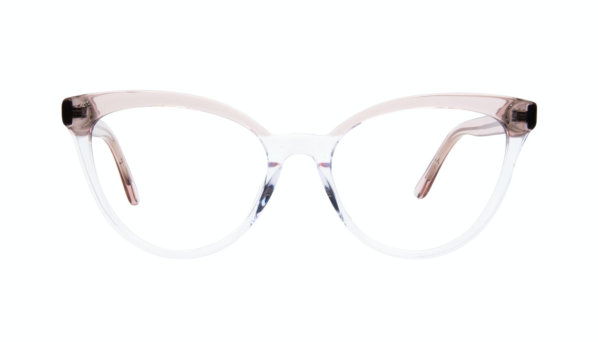 Lunettes tendance Oeil de chat Optiques Femmes Reverie Clear rose