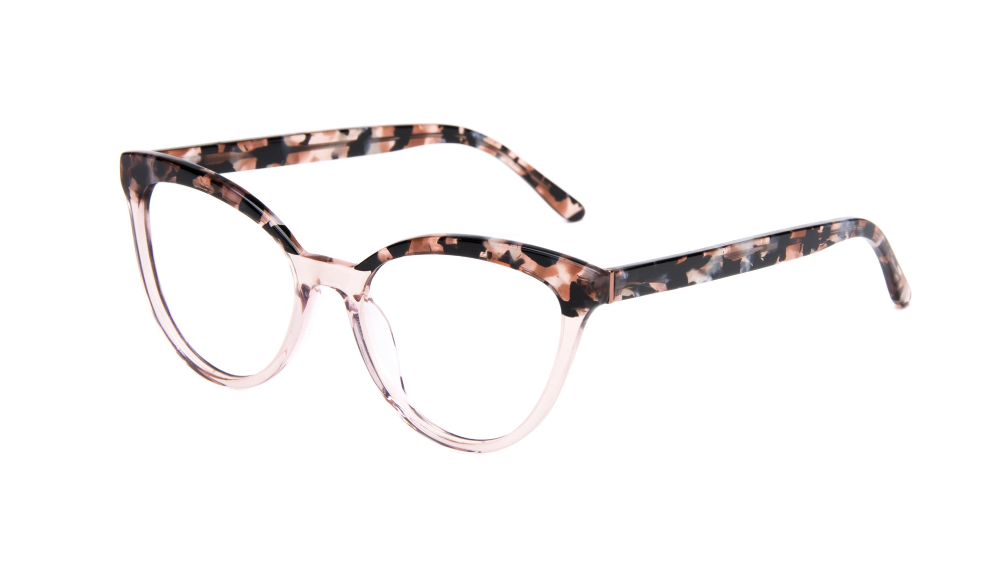 Affordable Fashion Glasses Cat Eye Daring Cateye Eyeglasses Women Reverie Rose Tort Tilt