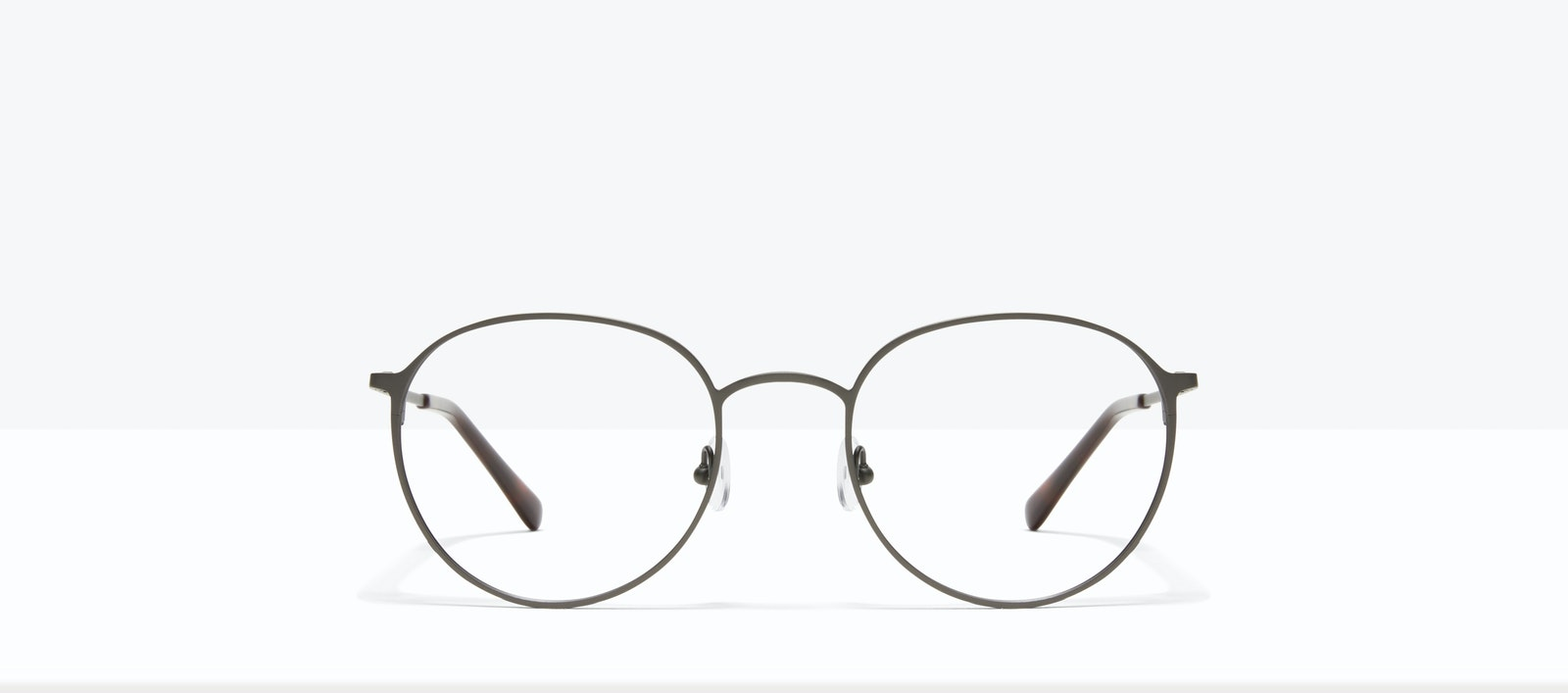Affordable Fashion Glasses Round Eyeglasses Men Ridge Carbon Front