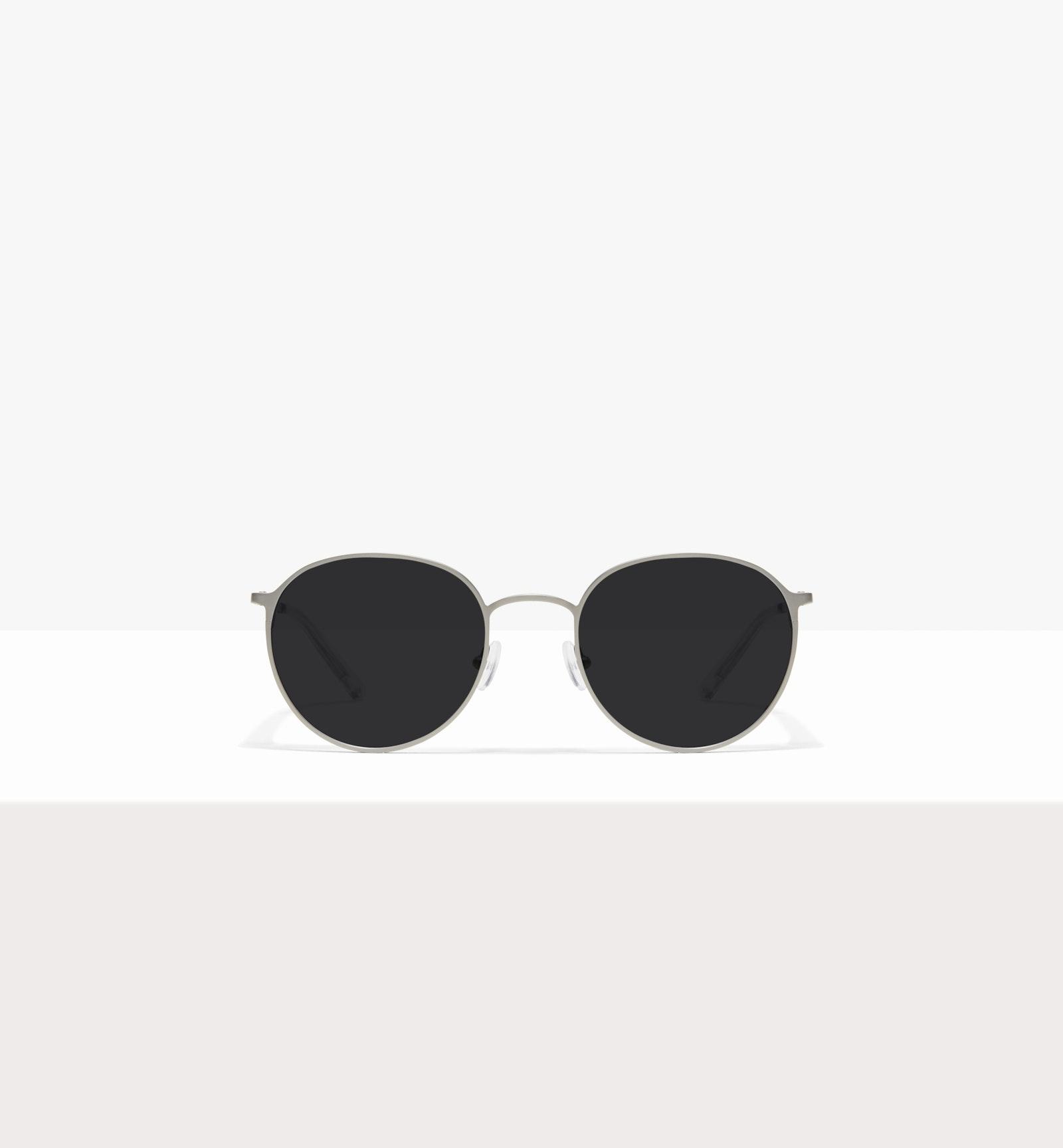 Affordable Fashion Glasses Round Sunglasses Men Ridge Silver