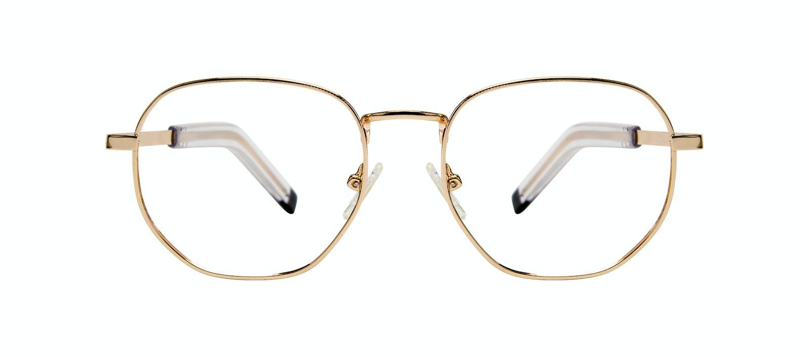 19975ed2b8 Affordable Fashion Glasses Round Eyeglasses Men Rise Gold Front