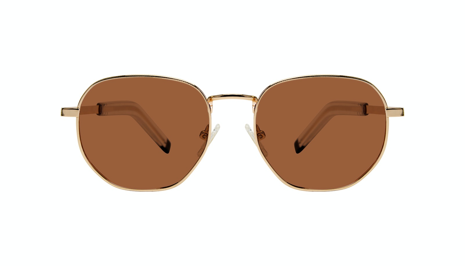 Affordable Fashion Glasses Round Sunglasses Men Rise Gold