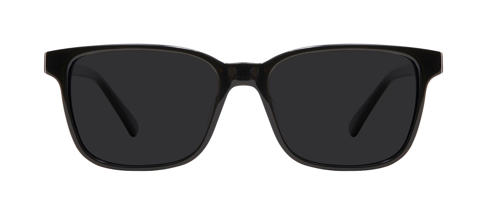 Lunettes tendance Carrée Lunettes de soleil Hommes Risk Black Face