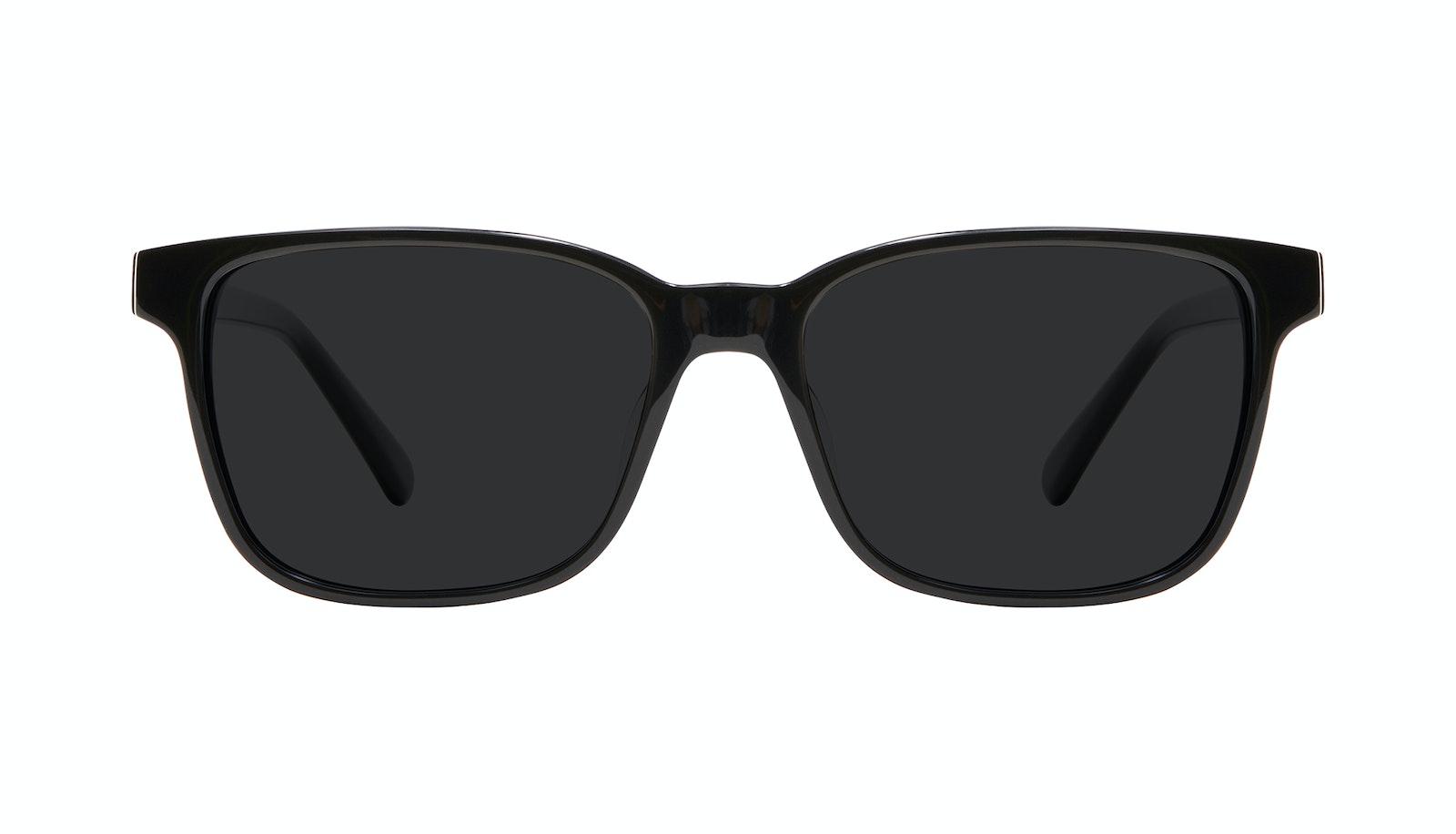 Lunettes tendance Carrée Lunettes de soleil Hommes Risk Black