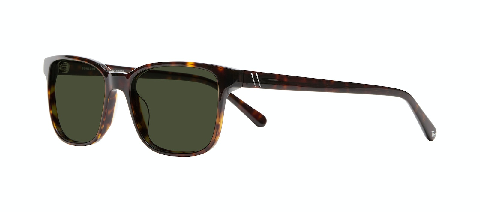 Affordable Fashion Glasses Square Sunglasses Men Risk Tortoise Tilt
