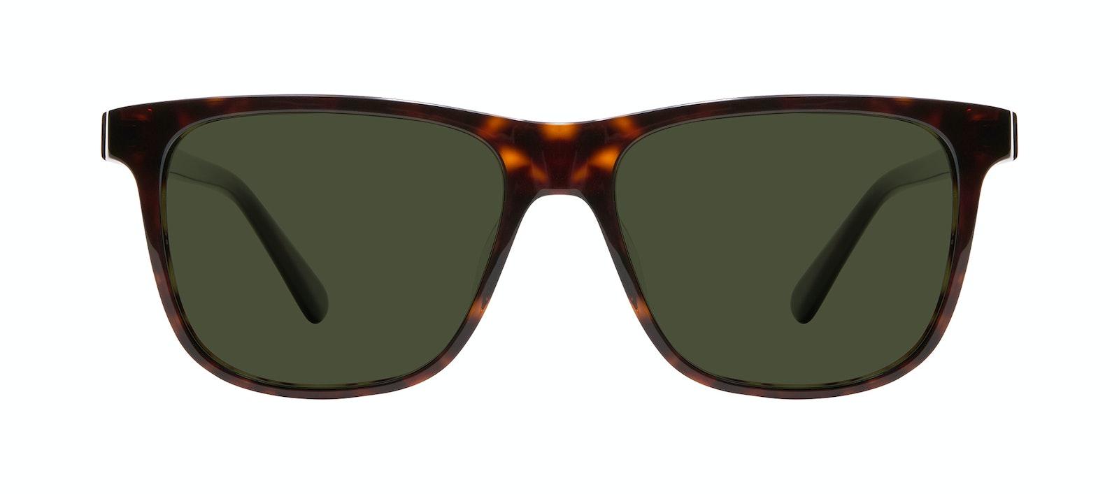 Affordable Fashion Glasses Square Sunglasses Men River Tortoise Front