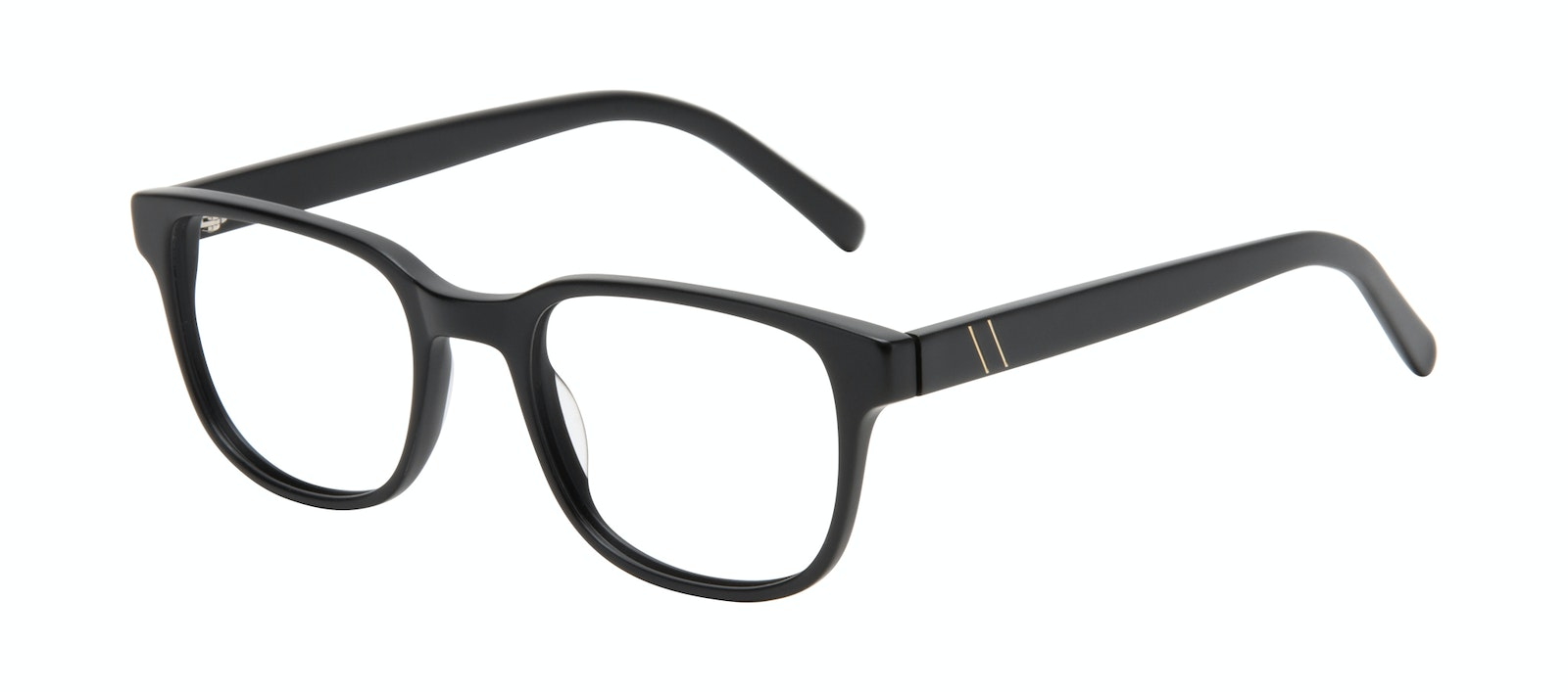 Affordable Fashion Glasses Square Eyeglasses Men Role Black Matte Tilt
