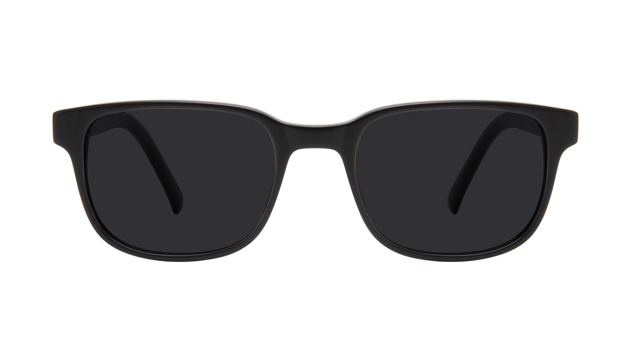 Affordable Fashion Glasses Square Sunglasses Men Role Black Matte Front
