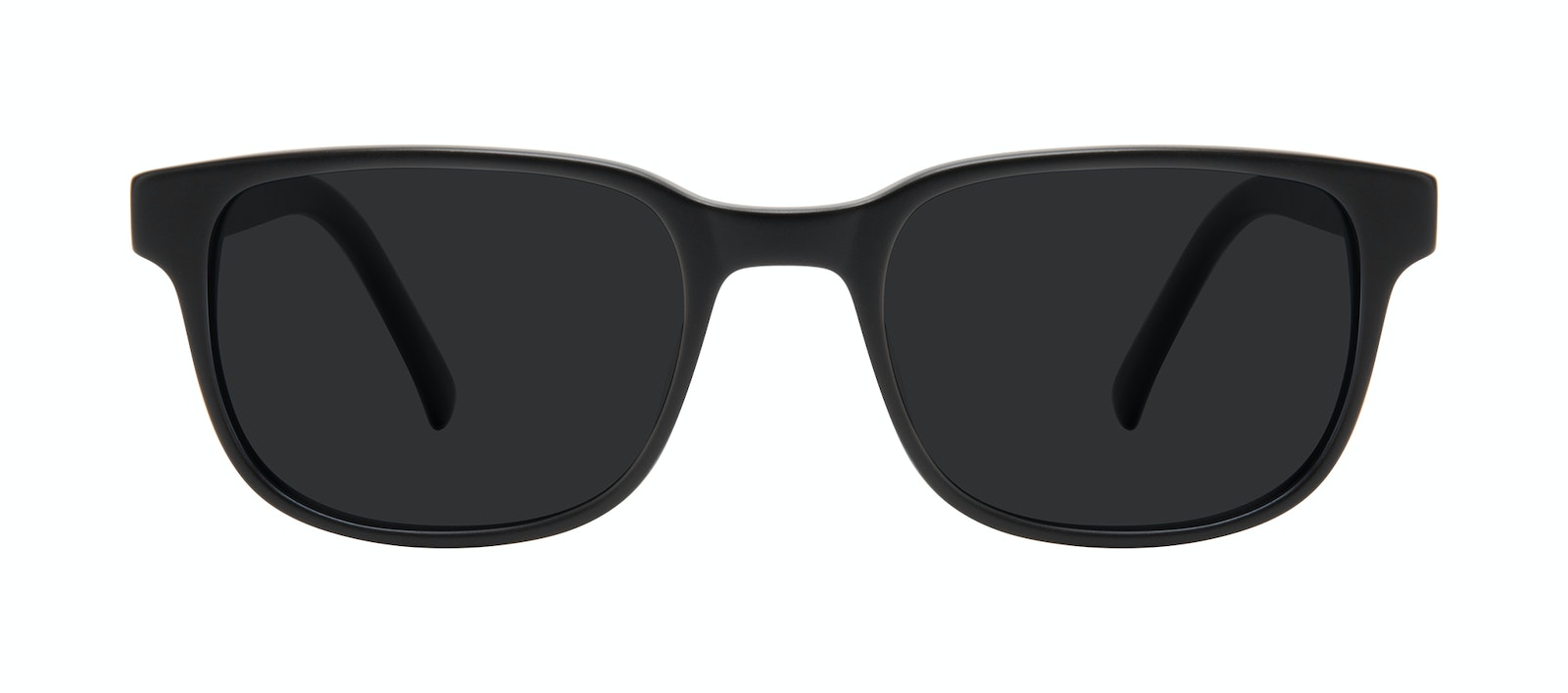 Affordable Fashion Glasses Square Sunglasses Men Role Black Matte Front