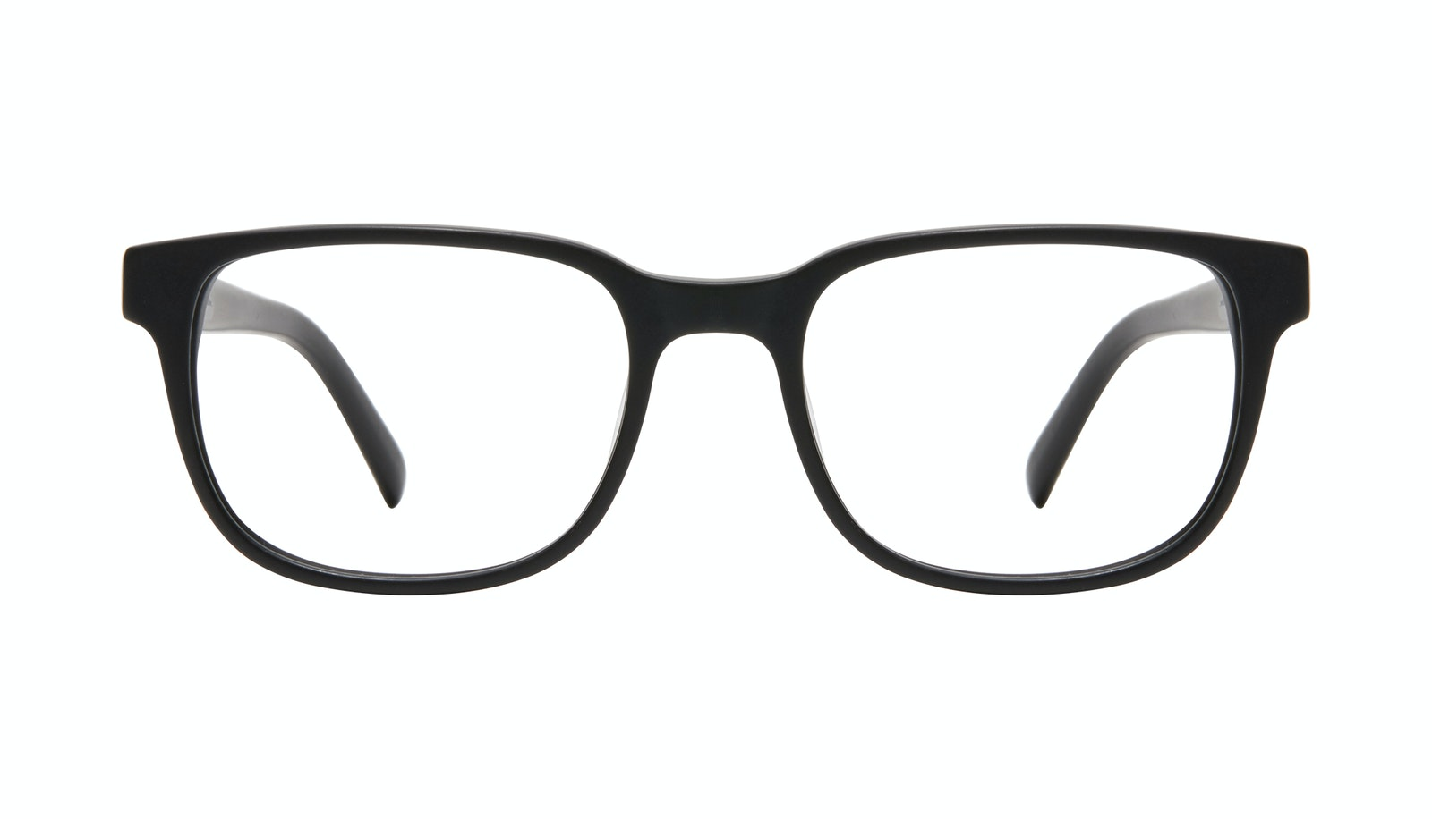 Lunettes tendance Carrée Lunettes de vue Hommes Role L Black Matte