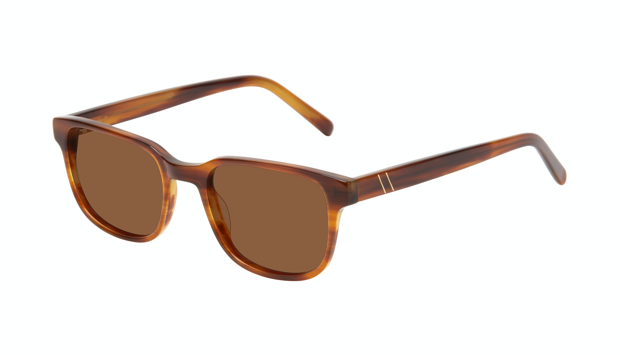 Affordable Fashion Glasses Square Sunglasses Men Role Havana Tilt
