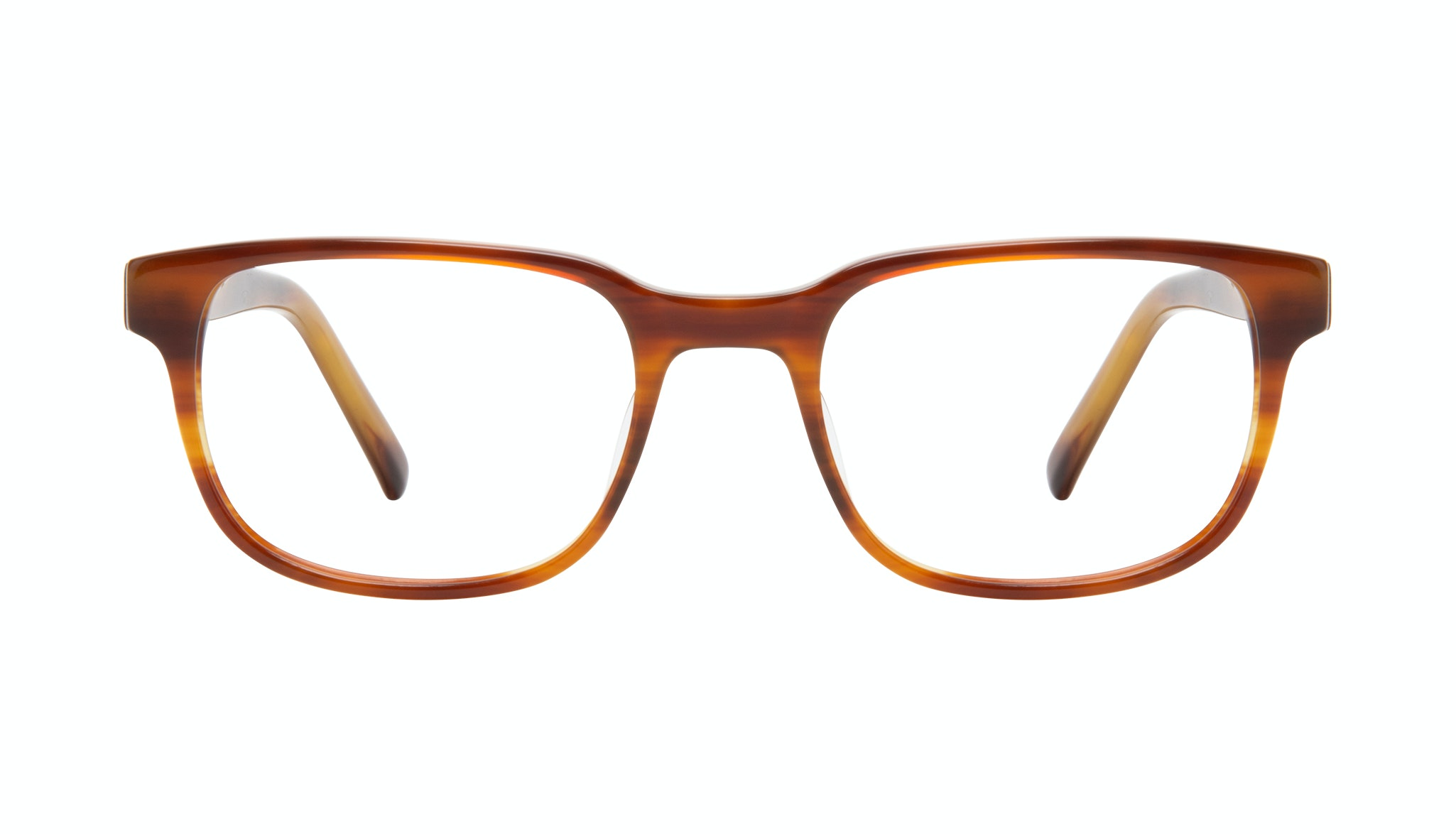 Affordable Fashion Glasses Square Eyeglasses Men Role Havana Front