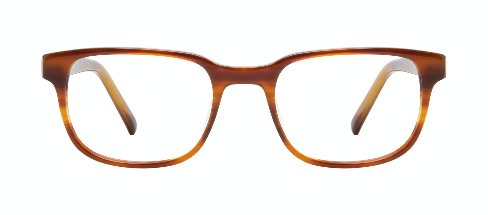 Affordable Fashion Glasses Square Eyeglasses Men Role Havana Front
